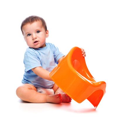 як привчити малюка до горщику