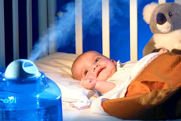 Як вибрати зволожувач повітря для дитячої