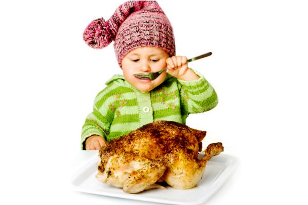 куряче м'ясо для дитини