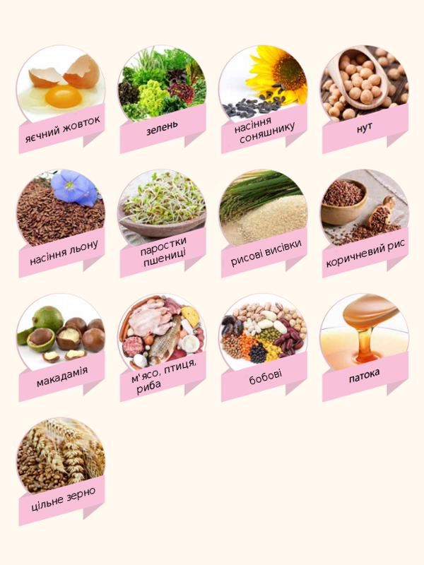 Продукти багаті вітаміном В1
