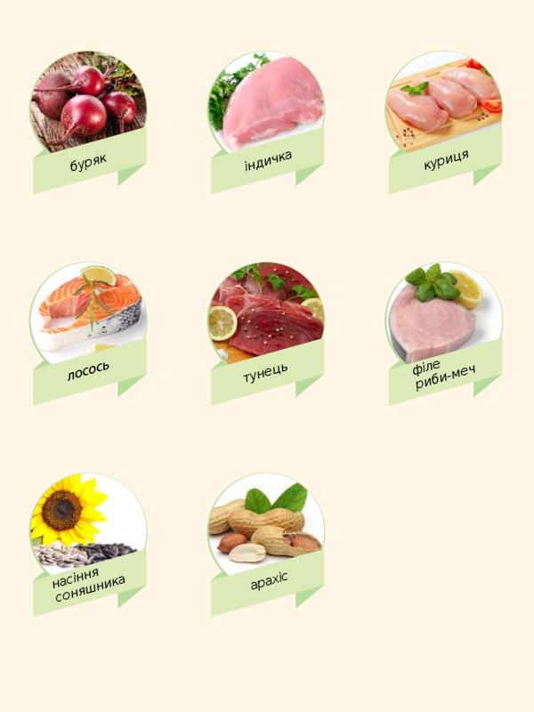 Продукти багаті вітаміном В3-