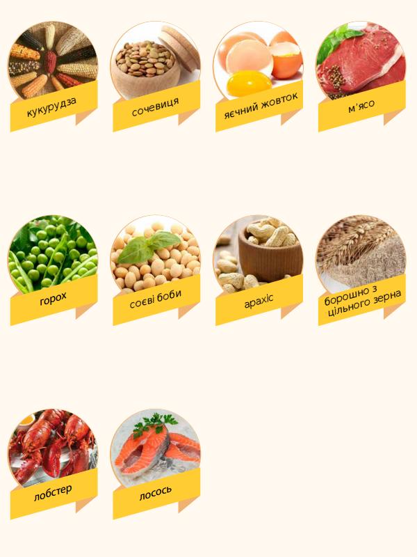 Продукти багаті вітаміном В5