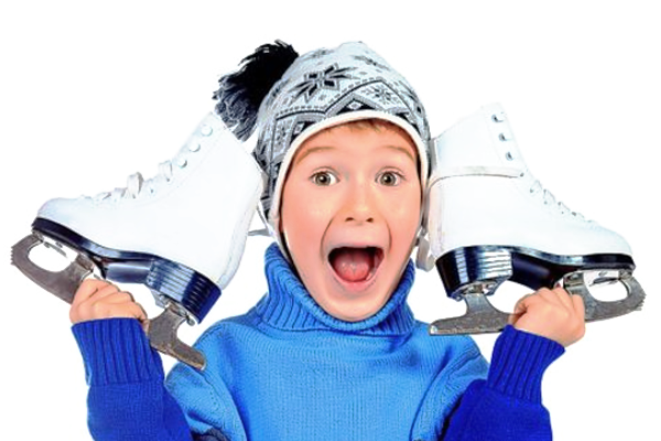Як навчити дитину кататися на ковзанах